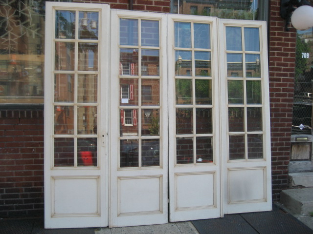 Antique doors warehouse bars antique bars antique for 48 inch french doors