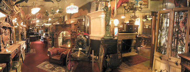 TAKE A GOOGLE TOUR OF THE INTERIOR OF OUR STORE CLICK PHOTO - Antique Bars, Antique Mantels, Antique Doors, Antique Pub Decor